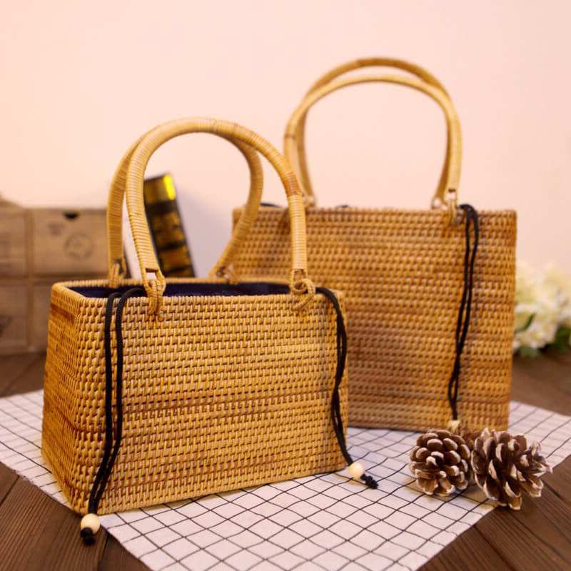 Summer Beach Weave Handbag