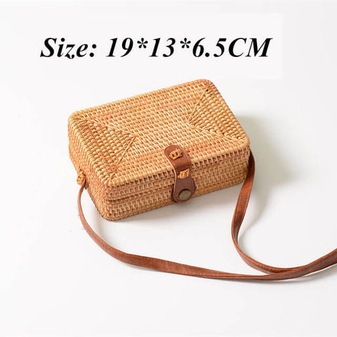 Image of Summer Mini Braided  Shoulder Messenger Bag