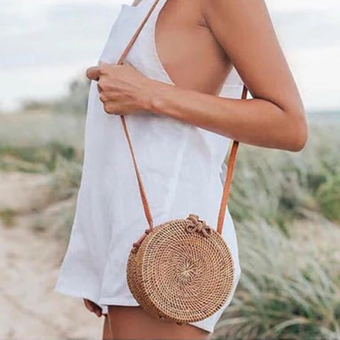 Summer Mini Braided  Shoulder Messenger Bag