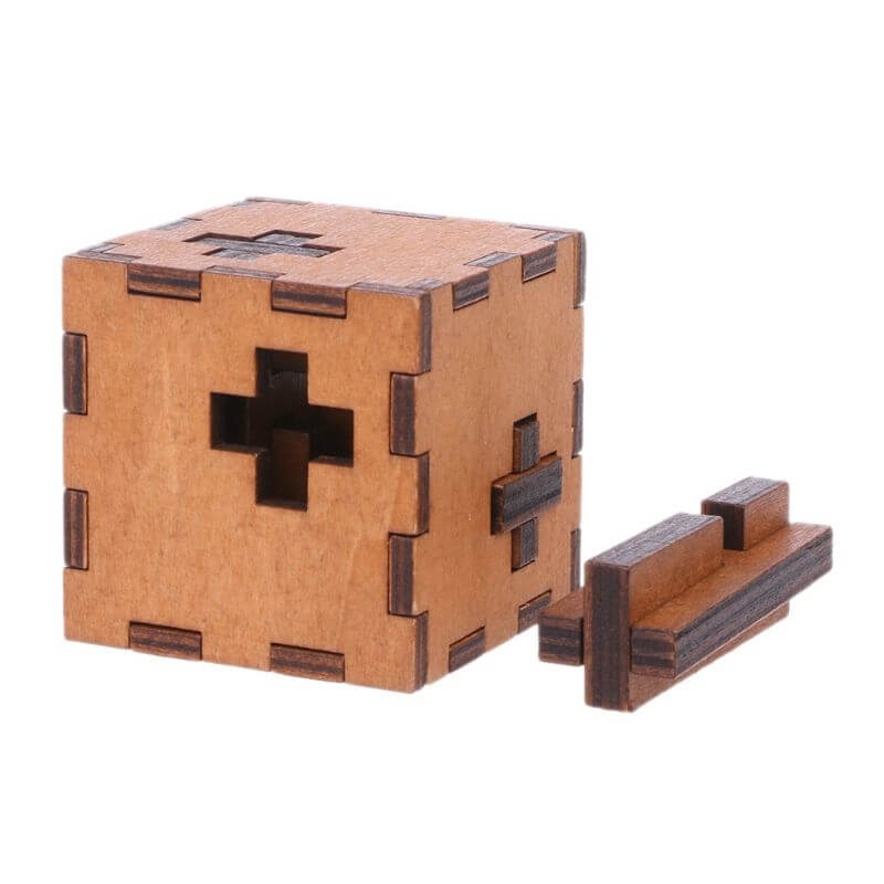Switzerland Cube Wooden Secret Puzzle Box