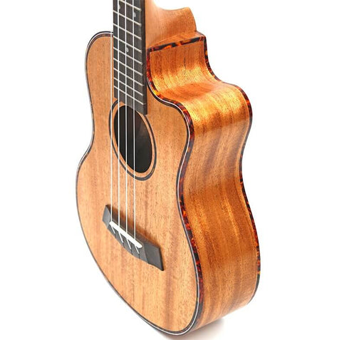 Image of Recloud Concert Acoustic Electric Ukulele 23/26 Inch  Mahogany