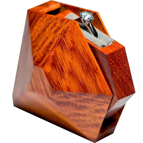 Image of Top Grade Wedding Ring Box Handmade