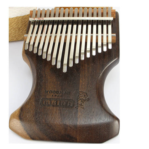 Image of 17 key African blackwood kalimba