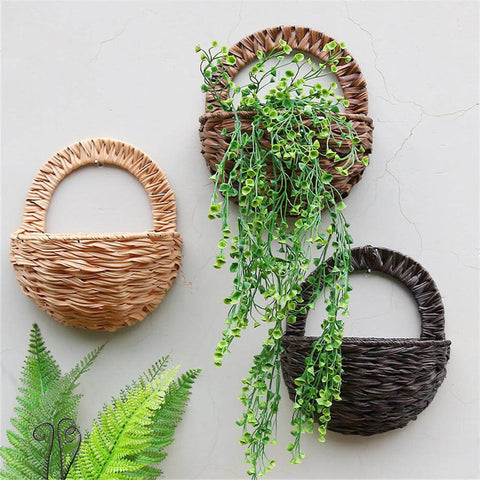 Image of Wall Hanging Flower Basket