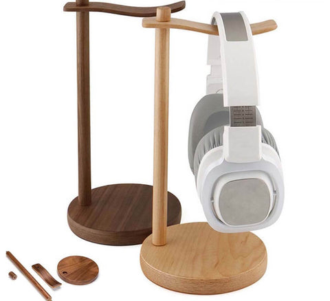 Wooden Headphone Holder (Walnut/Mapple)