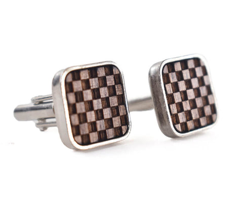Image of Wooden Cufflinks