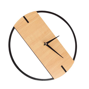 Silent Modern Wooden Wall Clocks