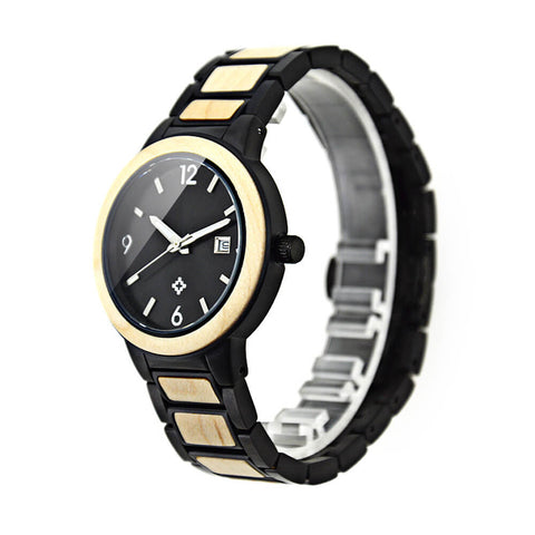 Image of penguin  wood watch  1