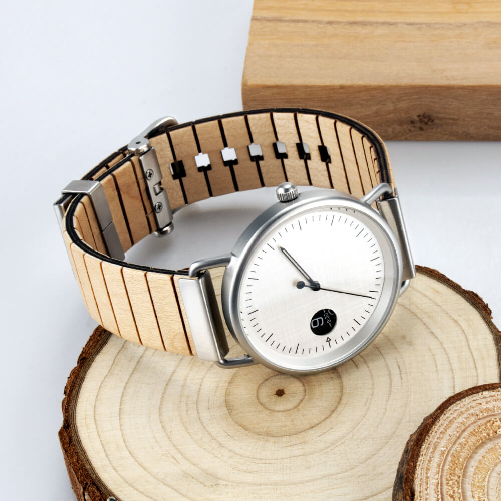 polar bear wood watch 3