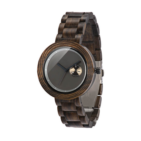 Image of red panda wood watch1