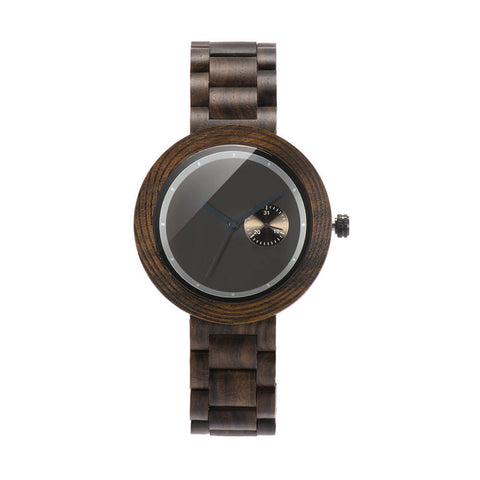 Image of red panda wood watch2