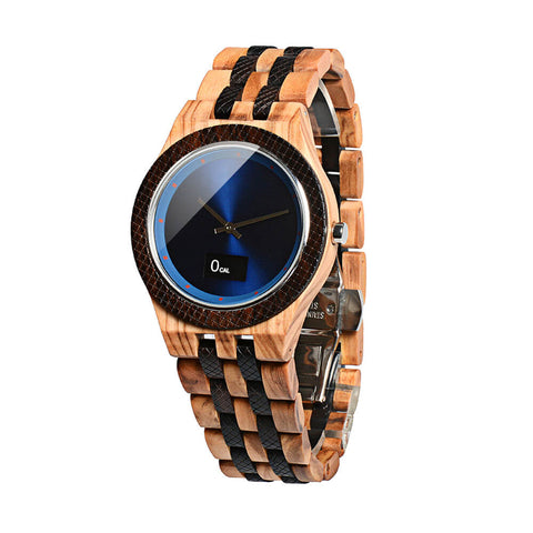 Image of wolf wood watch 12