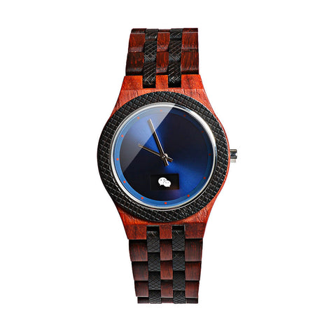 Image of wolf wood watch 13