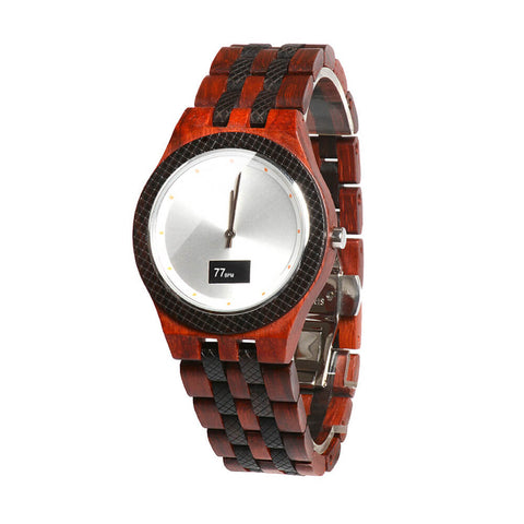 Image of wolf wood watch 15