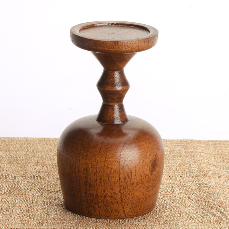 Wooden Tall Wine Cup