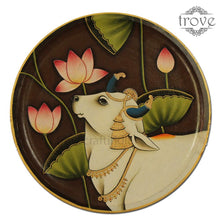 "Load image into Gallery viewer, 14"" Half Cow Decor Plate (Made-to-Order)"