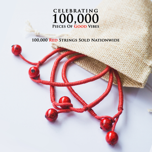 RED STRING (Set of 3 Bracelets)