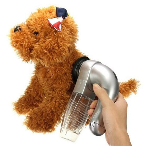 Puppy Electric Hair Shedding Grooming Brush Unload Vacuum Cleaner Trimmer