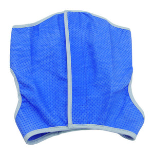 Pet Cooling Jacket Dog Ice-cooling Harness Pet Mesh Vest with Magic Tape