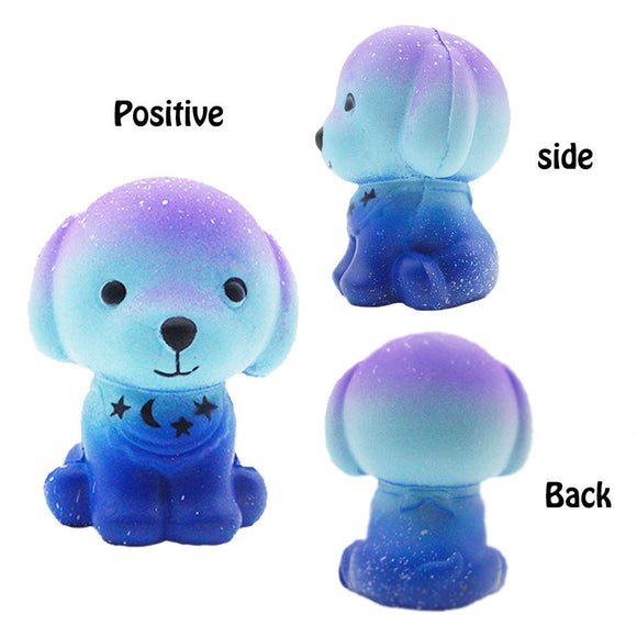 Squishies Galaxy Puppy  Slow Rising Cartoon Cream Scented  Stress Relief Toys
