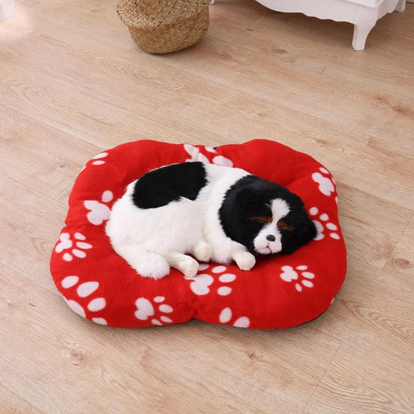 Pet Mat Winter Coral Velvet Warm Nest for Pet Cat Small Dog Puppy Kennel Bed Sofa Sleeping Mat House Puppy Dog Bed