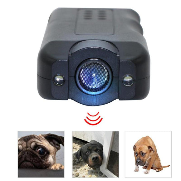 Flashlight Ultrasonic Dog Chaser Dog Training Repeller Aggressive Attack Repellent Anti Barking Dog Training Products