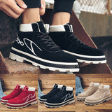 Men Boots Ankle Boot Work Shoes Casual High-Cut Adult Walking Footwear Sneakers