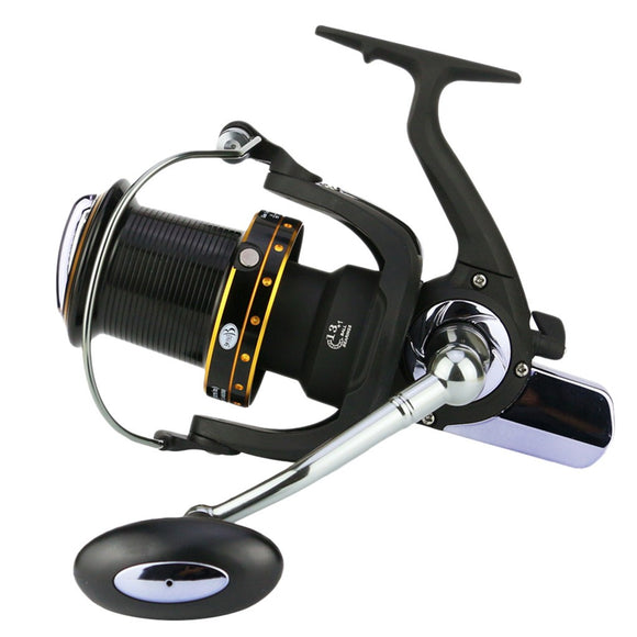Spinning Fishing Reels 14 Axis Gapless Fish Wheel Semi-Metal Folding GH6000-1100