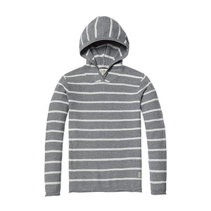 SIMWOOD Brand Sweater New 2019 Spring Winter Striped Hooded Sweater Men Slim Fit Cotton Plus Size Knitted Pullovers MT017032