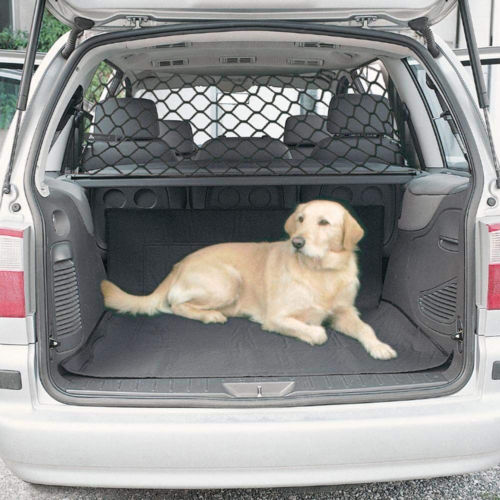 SolId Conveneint Car Pet Barrier Vehicle Dog Fence Cage Gate Safety Mesh Net Auto Travel Van HOT