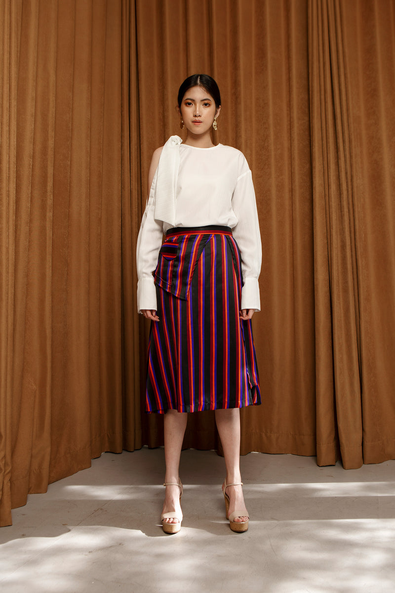 SOS Skirt - Stripe - Seabelle
