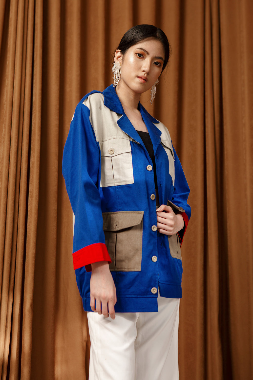 Raving Jacket - Blue - Seabelle