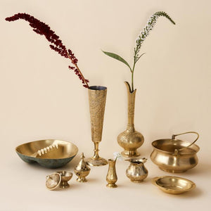 Mini Brass Vase