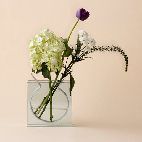Square Ribbon Vase