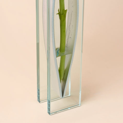 Tall Ribbon Vase