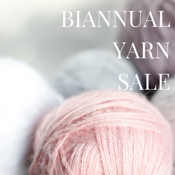 BIANNUAL YARN SALE