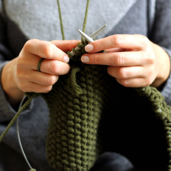 Drop-In Knitting Help