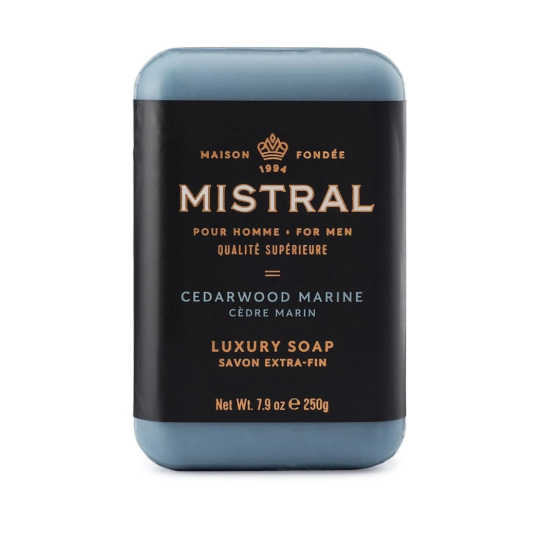 Men's Luxury Bar Soap | Mistral