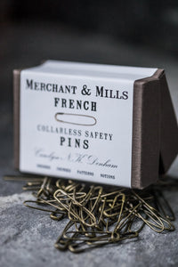 French Safety Pins | Merchant & Mills