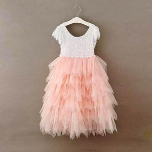 Bohemian Princess Dress - Blush
