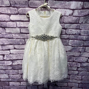 Ivory Lace Lilliana Dress and Sash