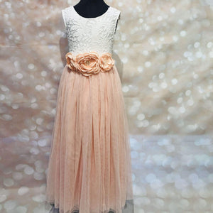 Bohemian Classic Dress - Blush Pink