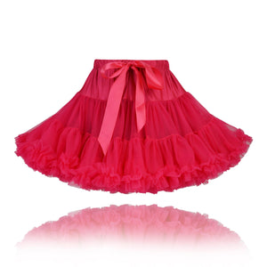Girls Raspberry Couture Princess Pettiskirt
