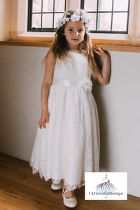 Lilliana Dress - Ivory