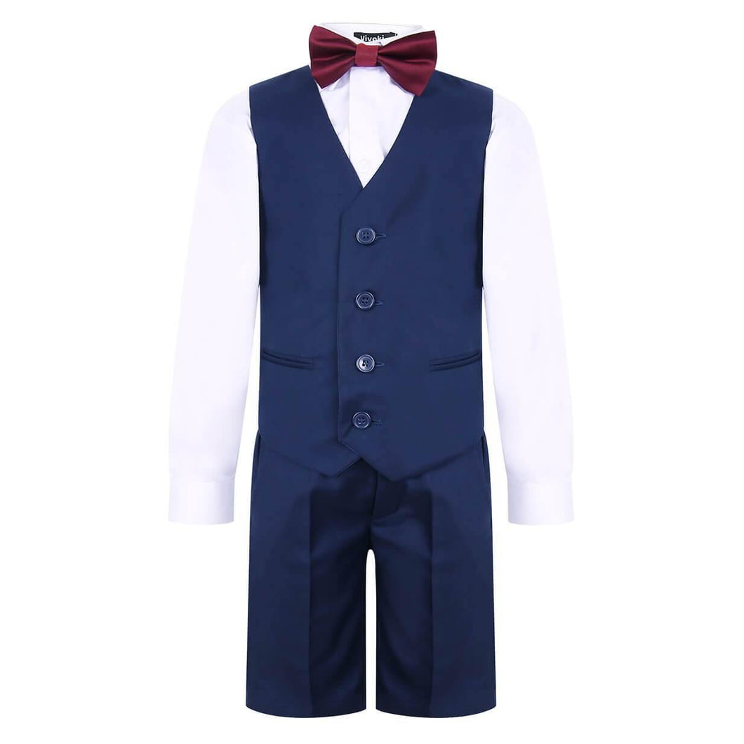 Boys navy Blue suit