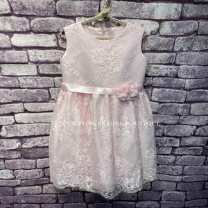Lace Lilliana Dress in Pink