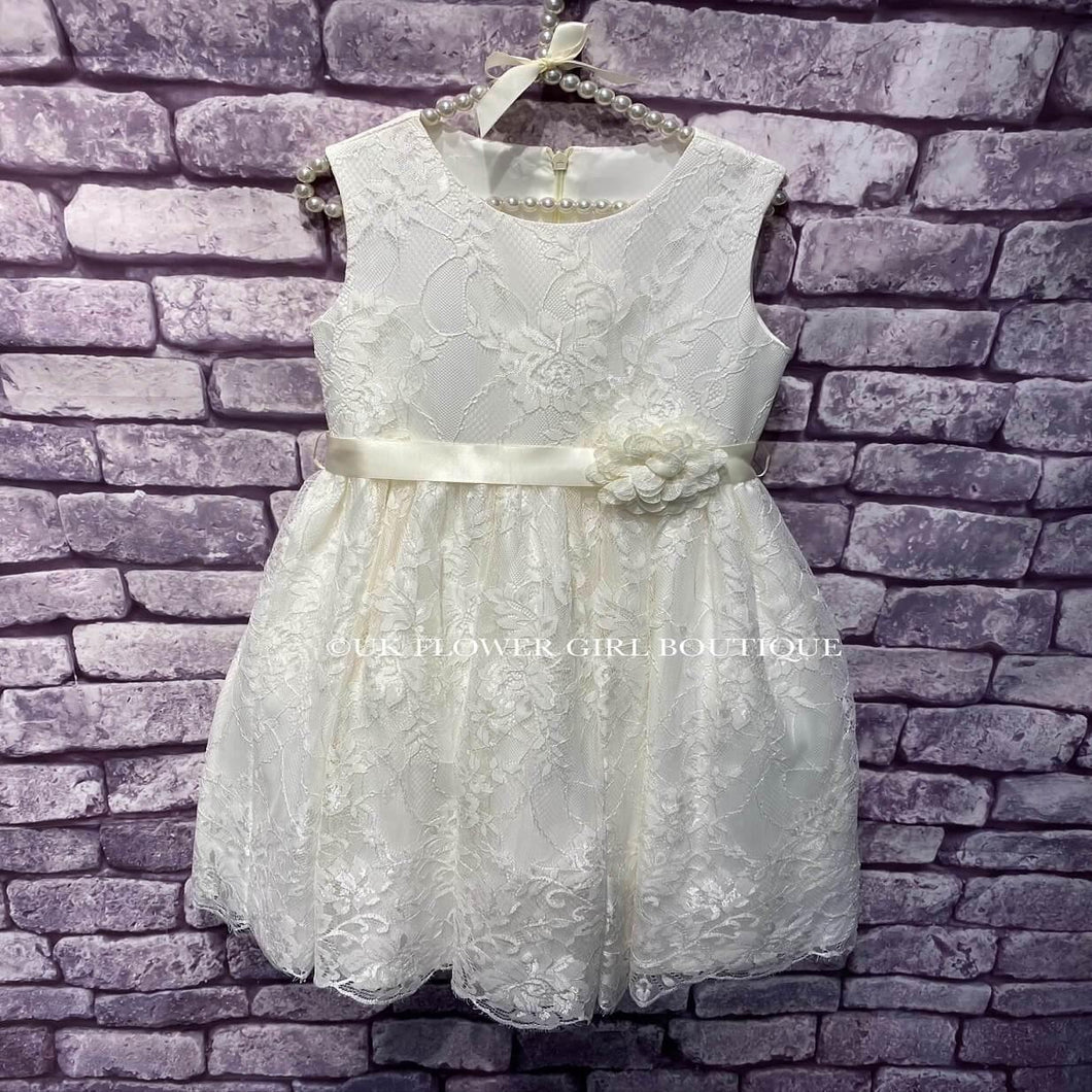Ivory Lilliana Dress