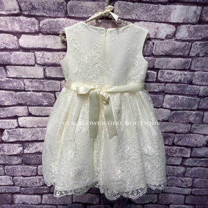 Ivory Lace Lilliana Dress