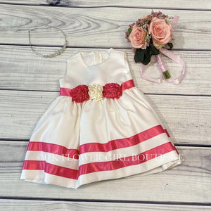 'Baby Dee' Dress and Bolero - Pink
