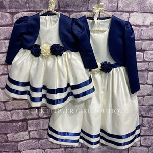 Matching baby and child dress